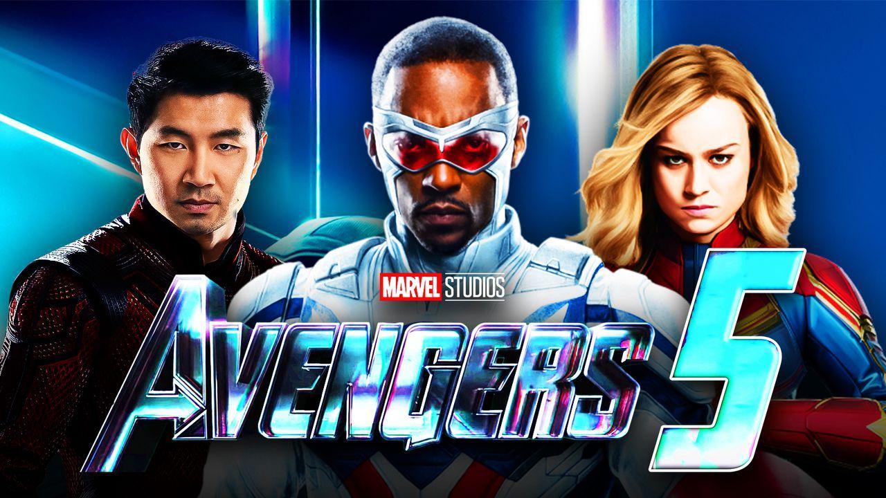 Avengers 5, Captain America, Shang-Chi, Captain Marvel