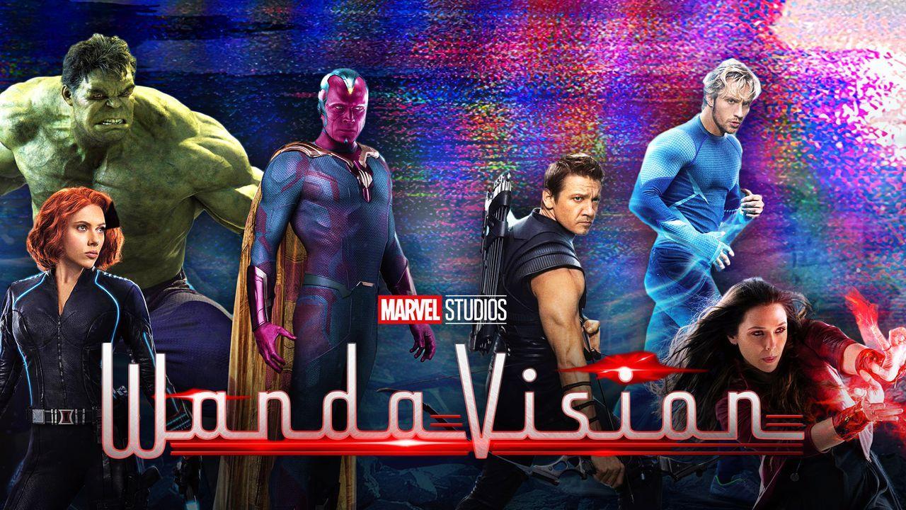 Avengers, WandaVision logo