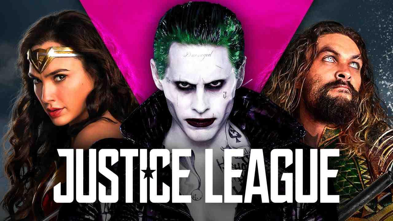 Wonder Woman, Joker, Aquaman