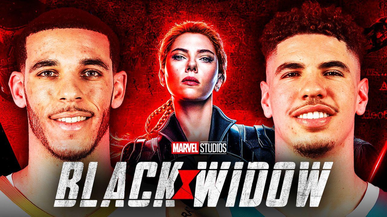 Black Widow Lamelo & Lonzo Ball