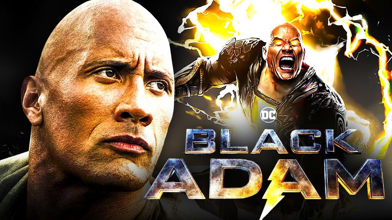 Dwayne Johnson, Black Adam logo