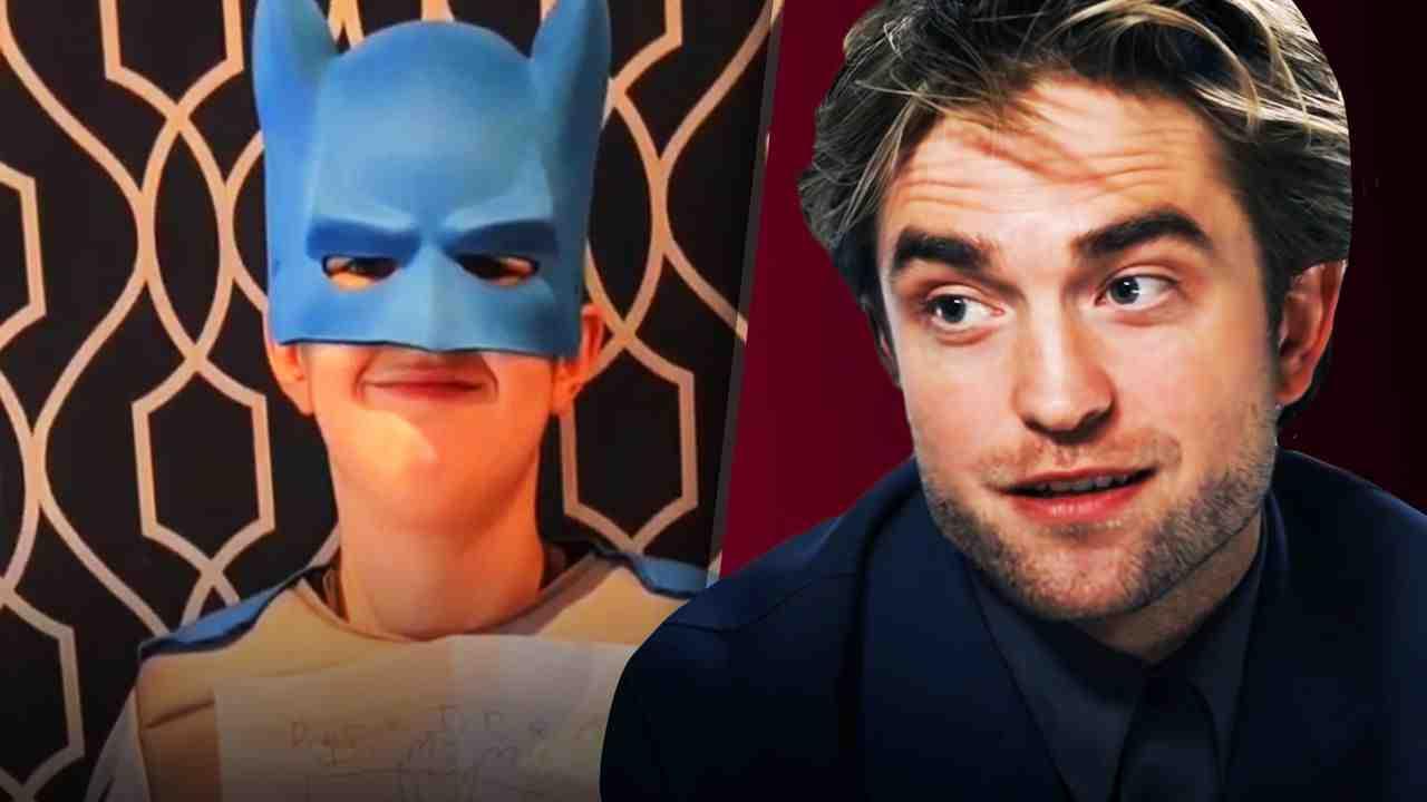 Batman costume, Robert Pattinson