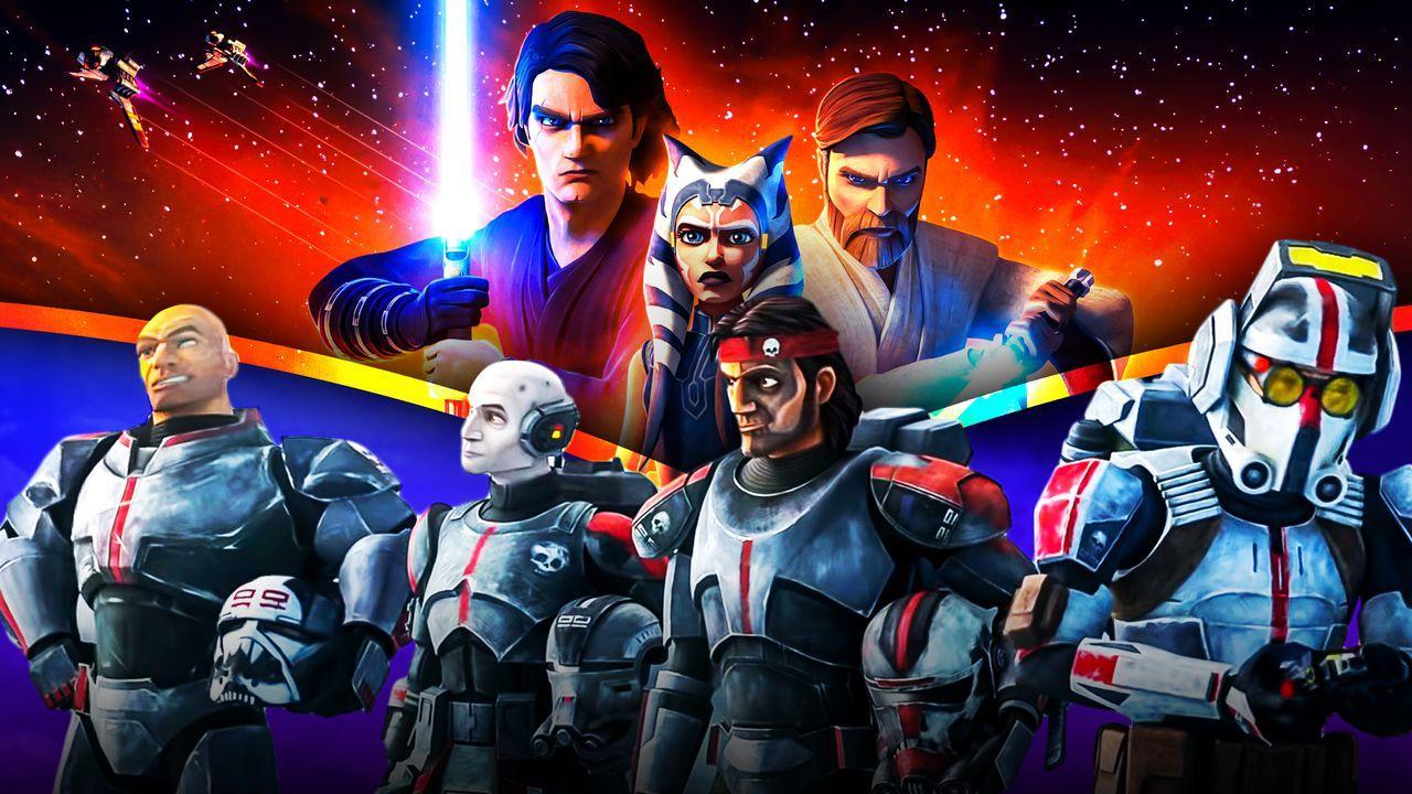 Star Wars: The Clone Wars, Star Wars: The Bad Batch