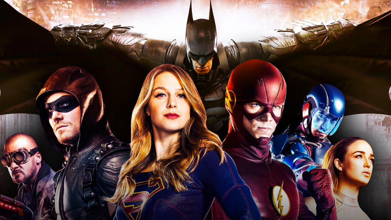 Arrowverse poster, Batman