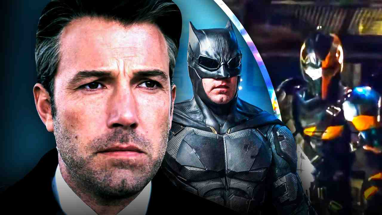 Ben Affleck Batman Deathstroke