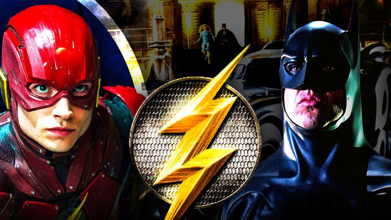 The Flash Keaton Batman