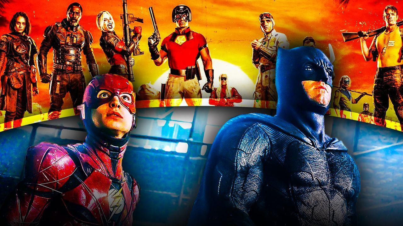 Batman Flash Suicide Squad