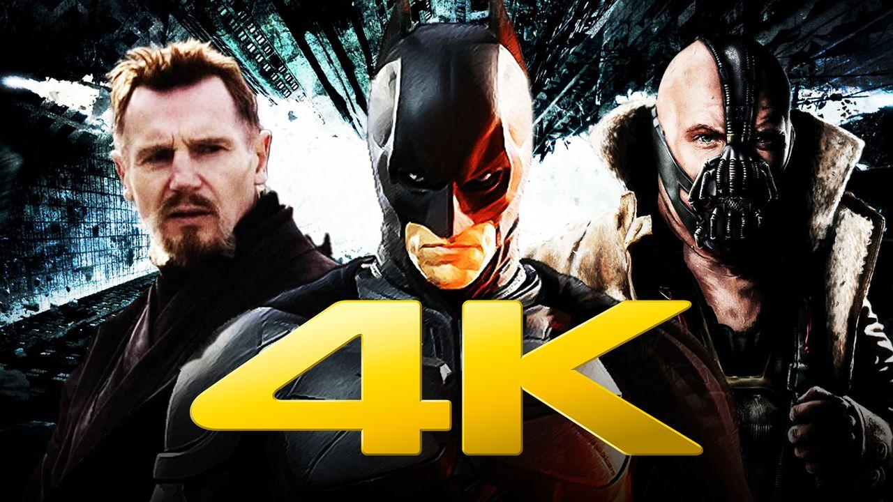 Batman Dark Knight Rises Bane 4K Trailers