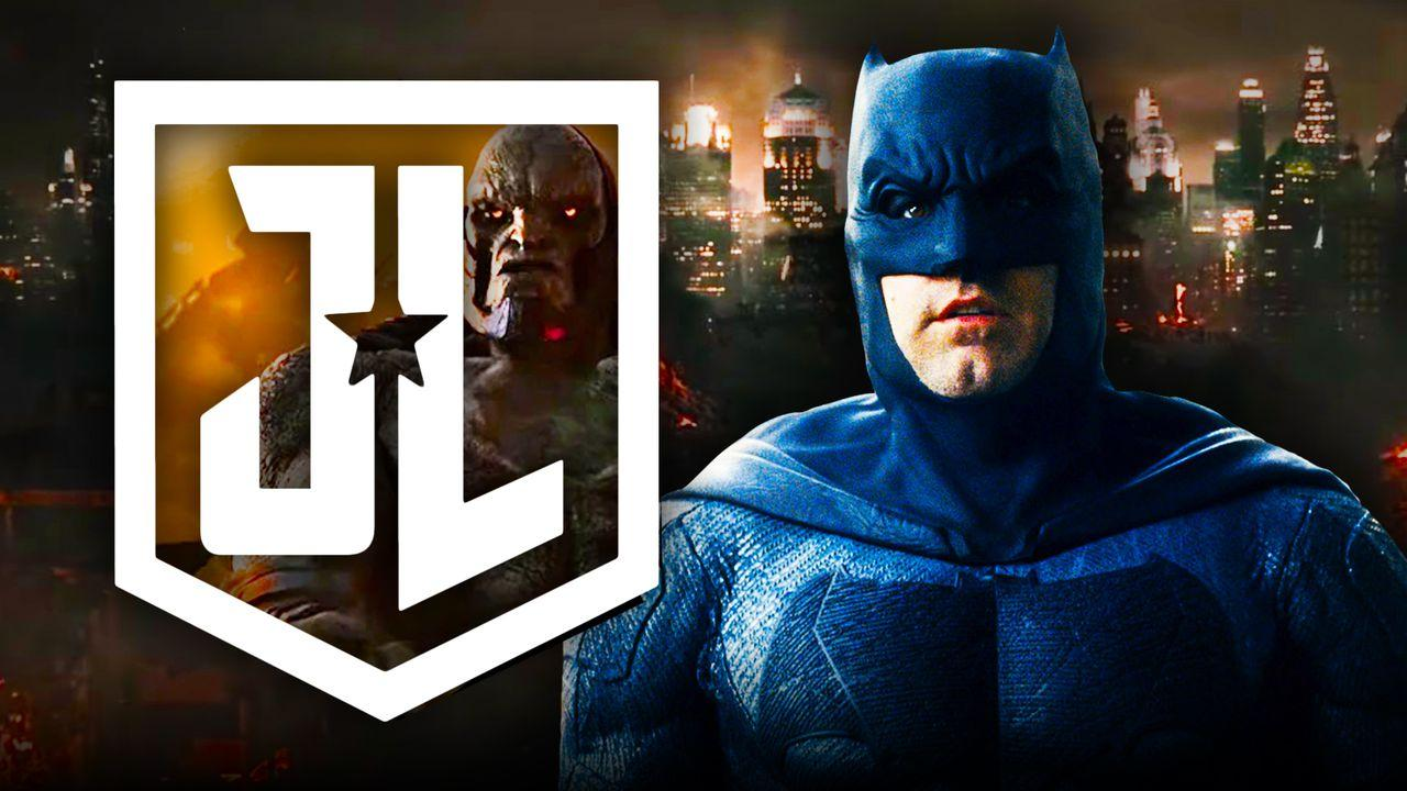 Batman, Darkseid, Justice League Snyder Cut Logo
