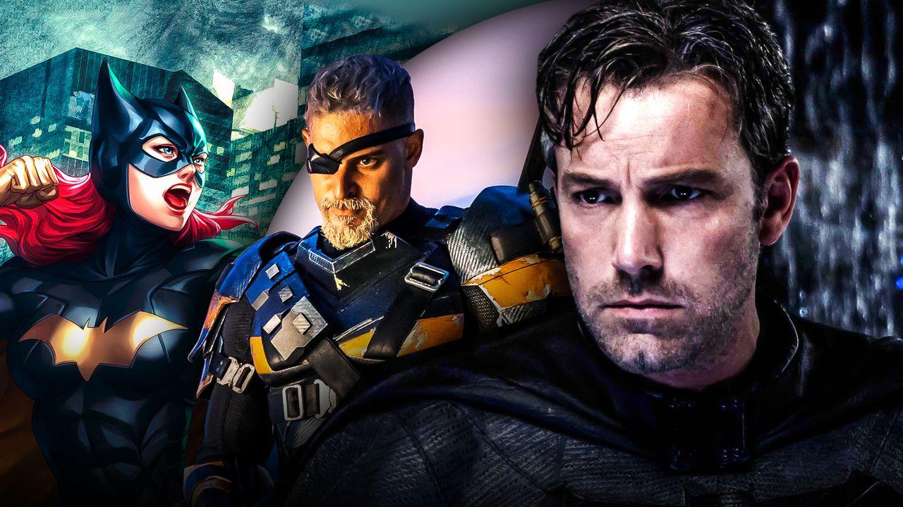Joe Manganiello as Deathstroke, Batgirl, Ben Affleck as Batman
