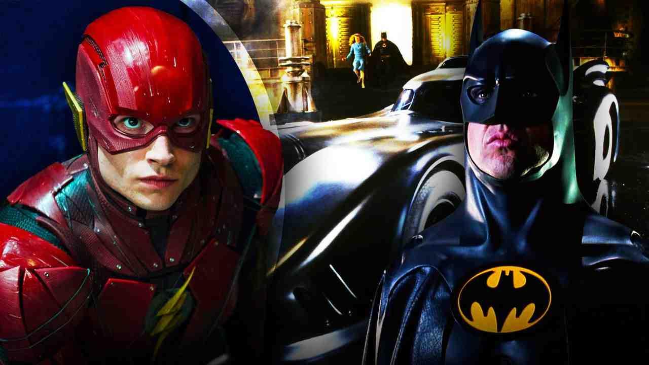 Batmobile, The Flash, Batman