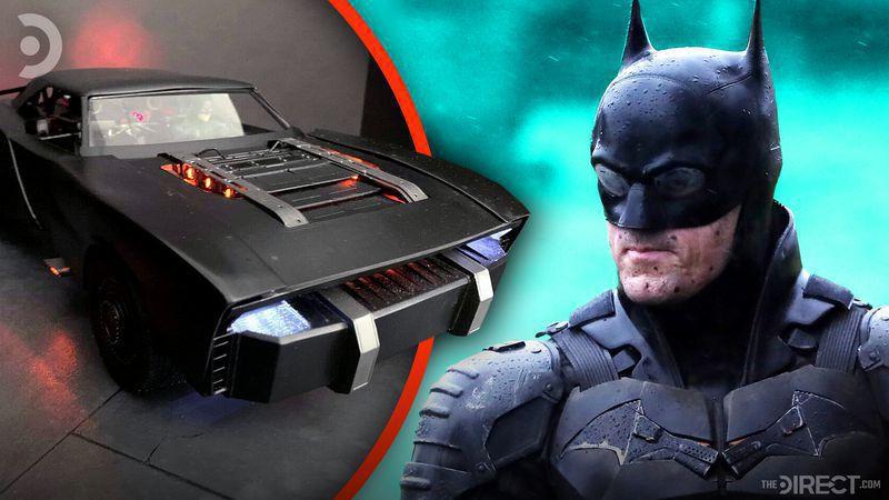 New Batmobile design for The Batman