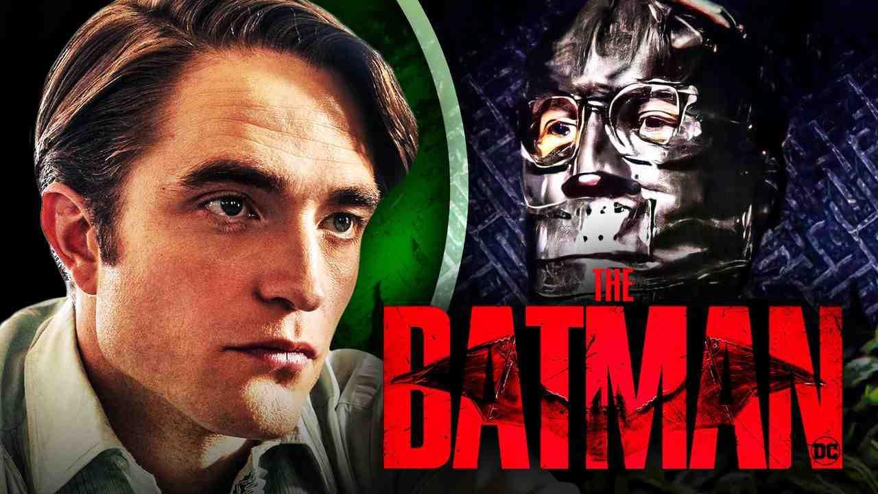 Robert Pattinson, Paul Dano's Riddler, The Batman logo