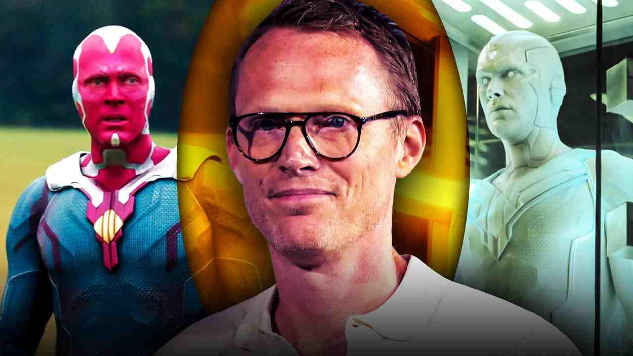 Paul Bettany Vision White Vision