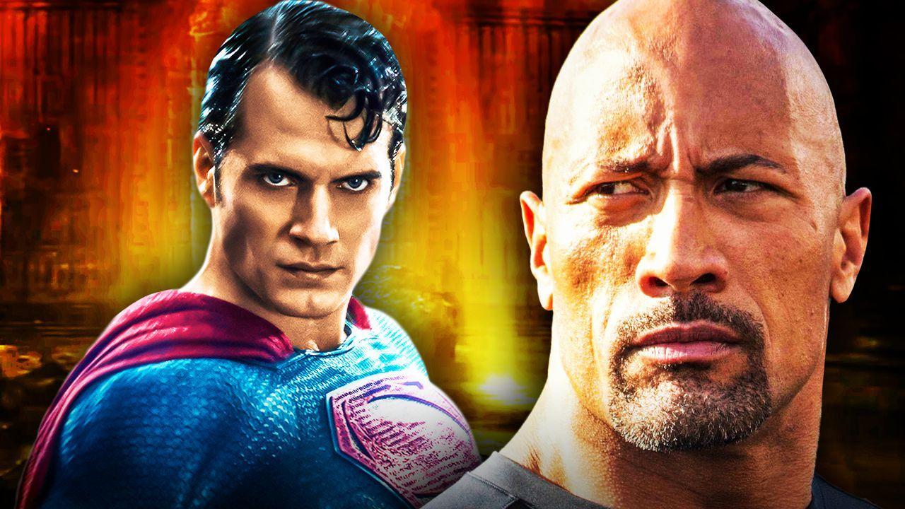 Superman Dwayne Johnson