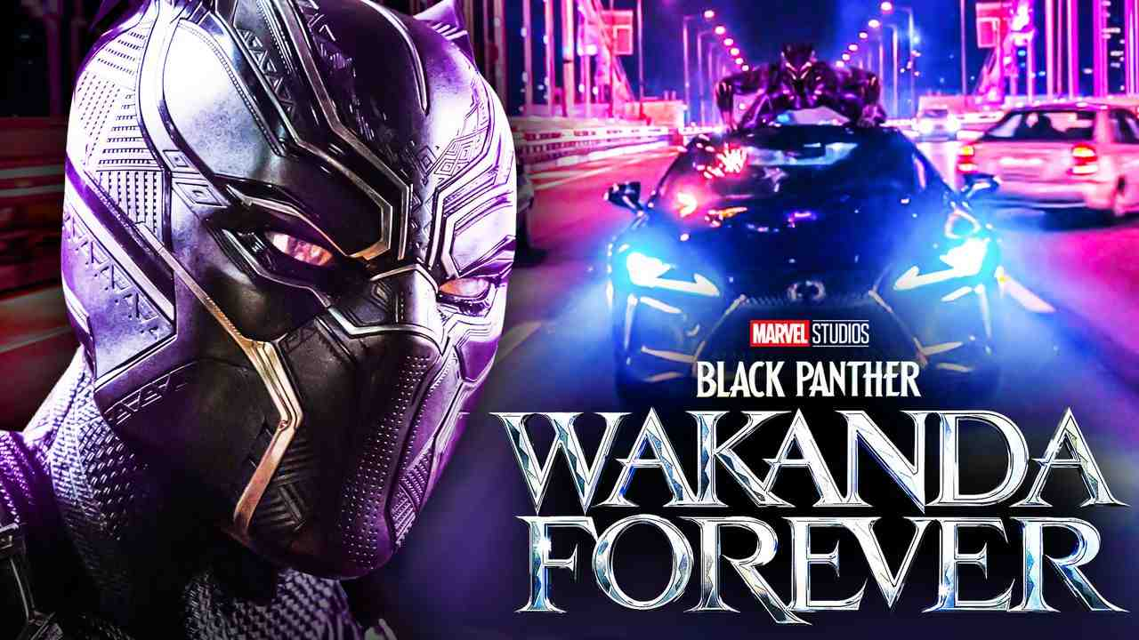 Black Panther 2 car scene
