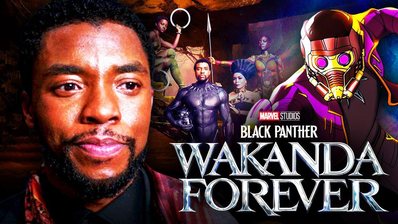 Chadwick Boseman, T'Challa Star-Lord, Black Panther: Wakanda Forever