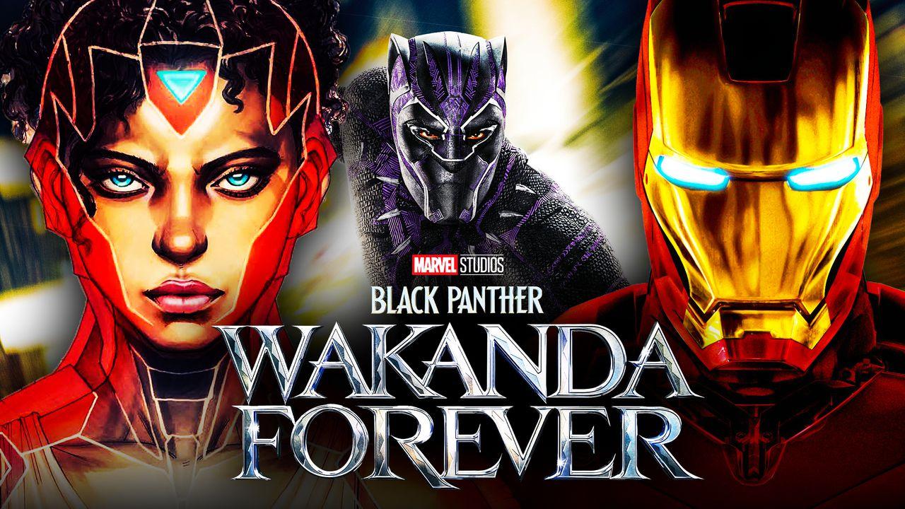 Black Panther Ironheart Iron Man
