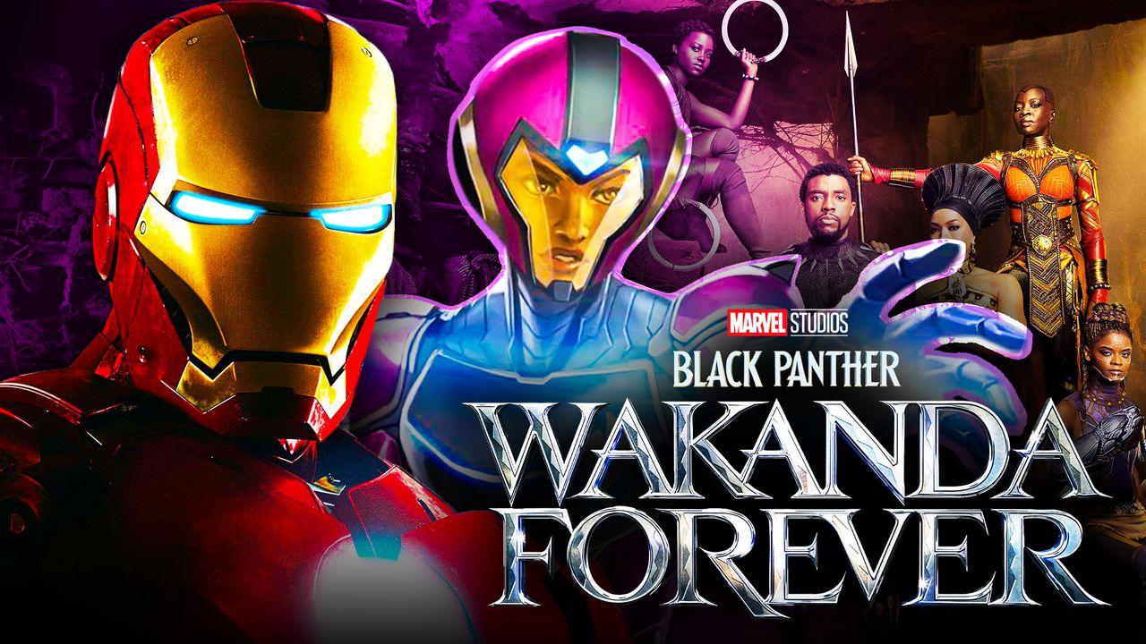 Iron Man Black Panther 2 Ironheart