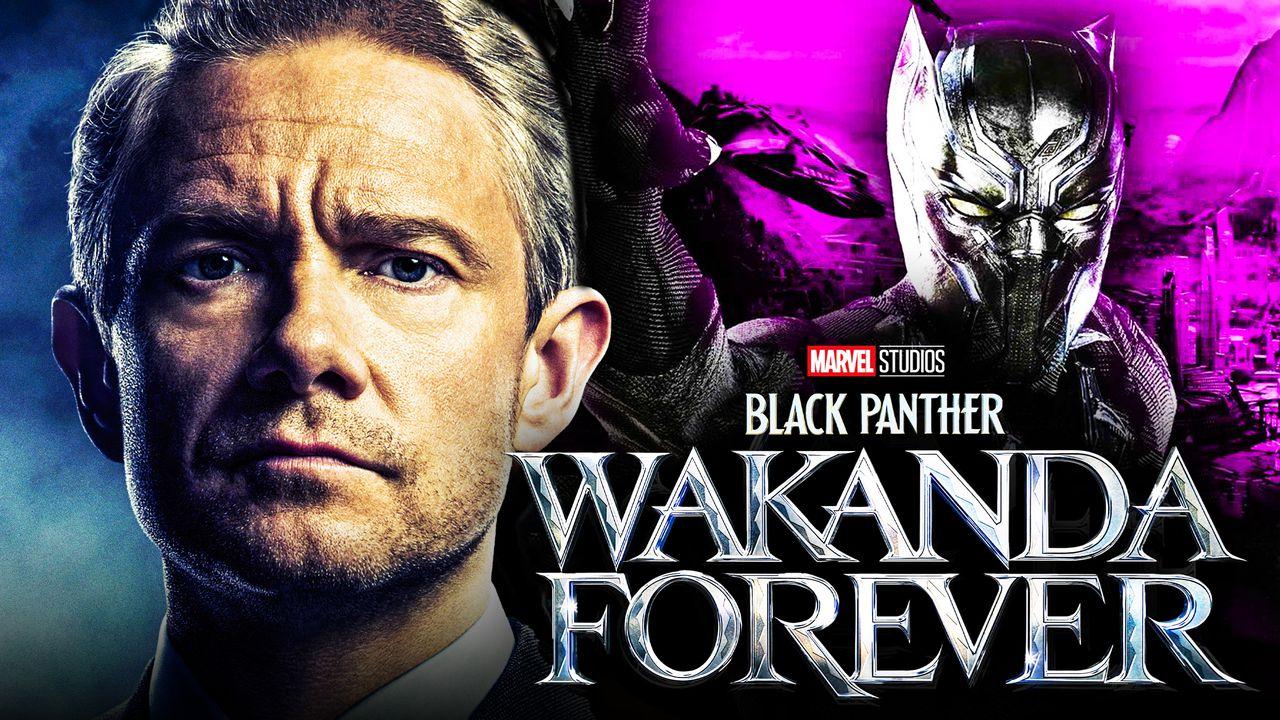 Black Panther 2 Martin Freeman Everett Ross