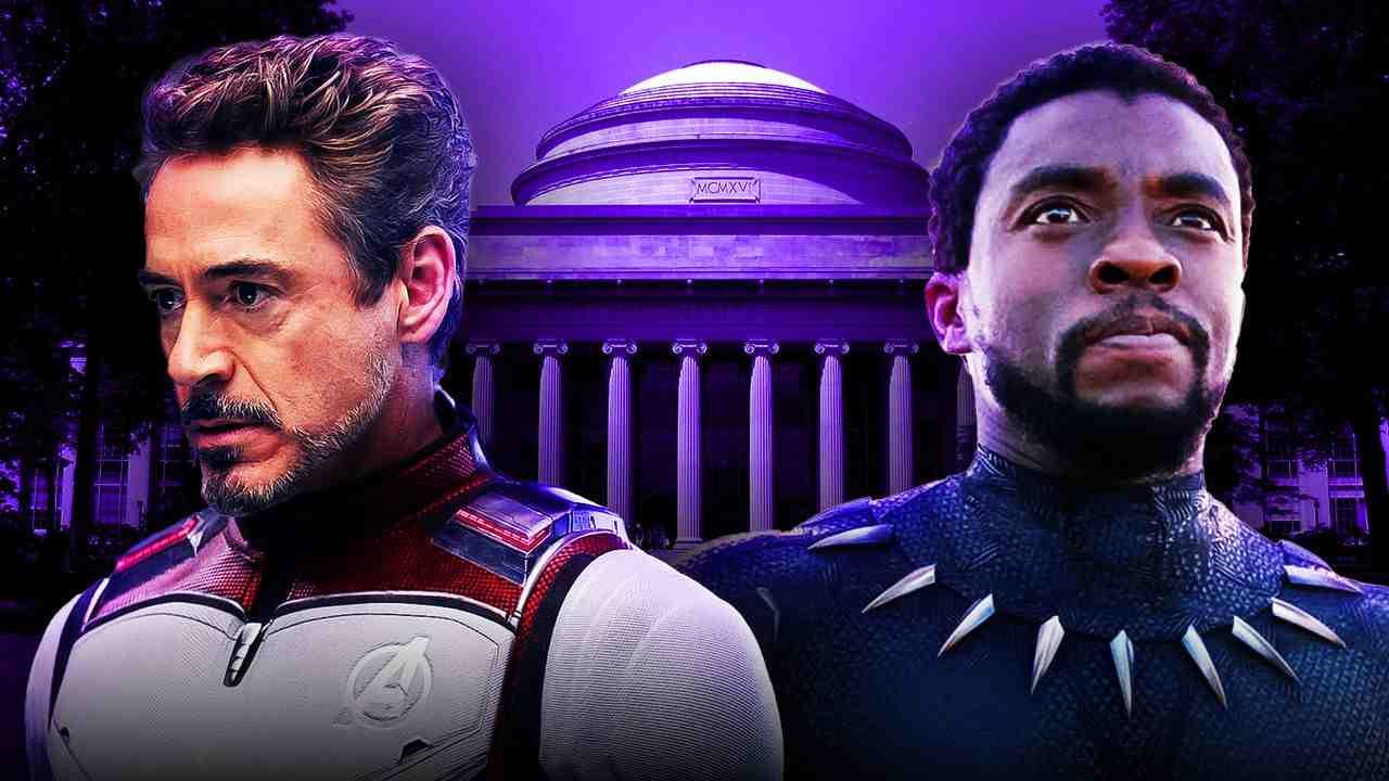 MIT Iron Man Black Panther