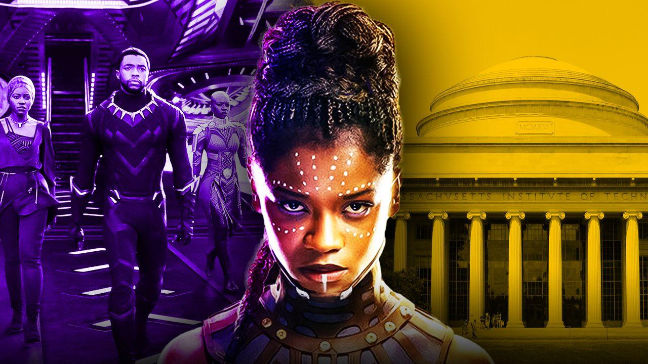 Black Panther Letitia Wright as Shuri