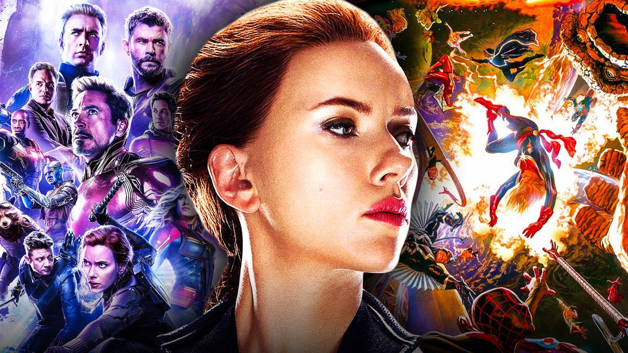 Black Widow Avengers Secret Wars