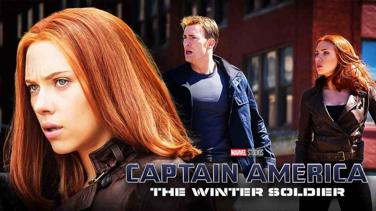 Black Widow Captain America Chris Evans The Winter Soldier