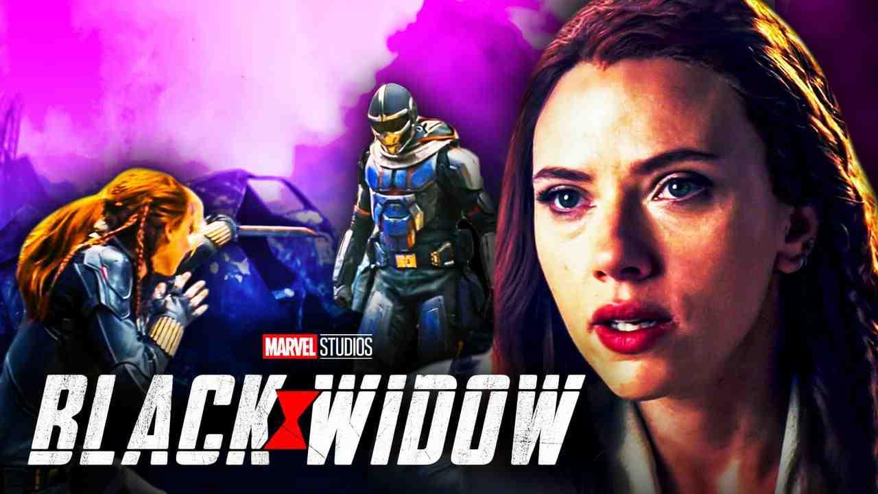 Black Widow Taskmaster Ending Fight