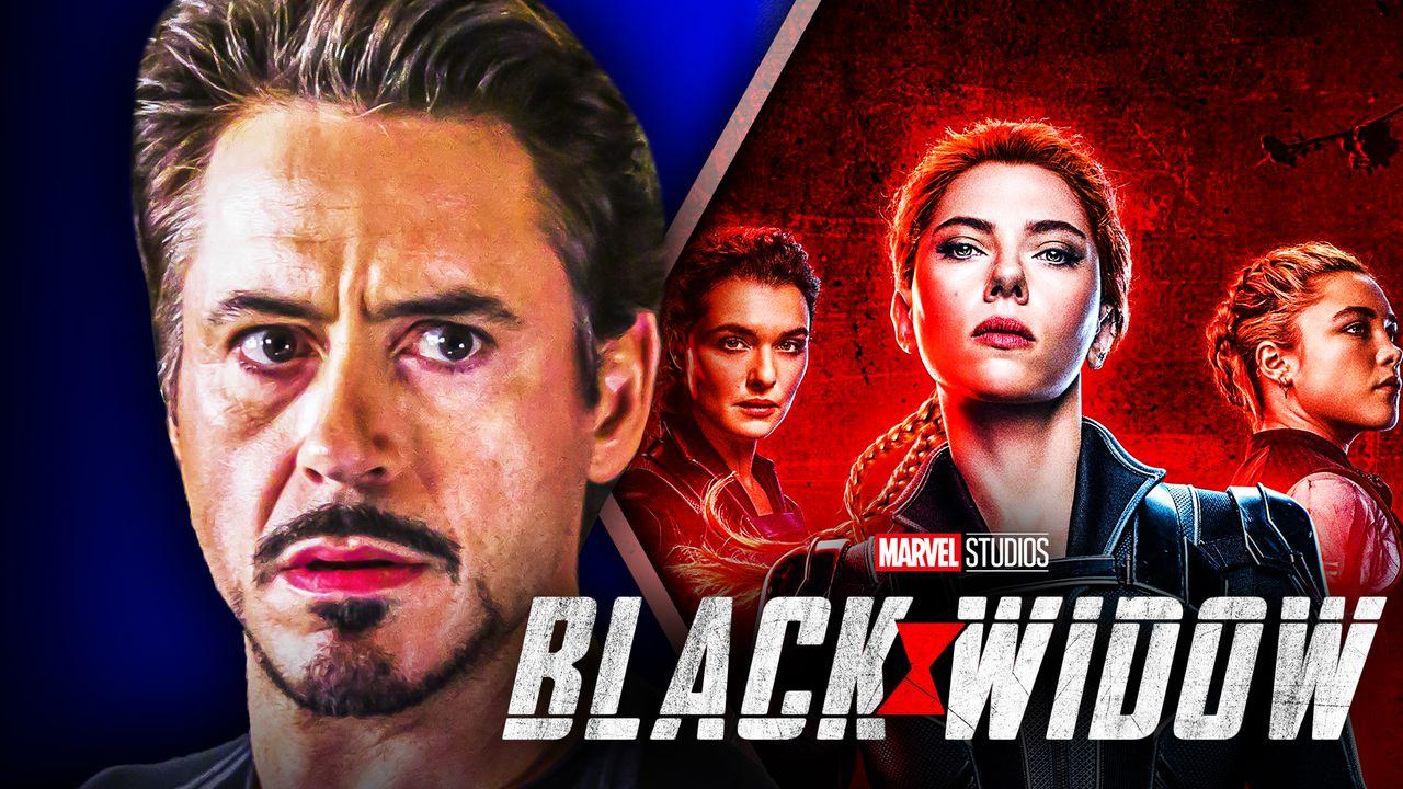 Black Widow Iron Man Robert Downey Jr