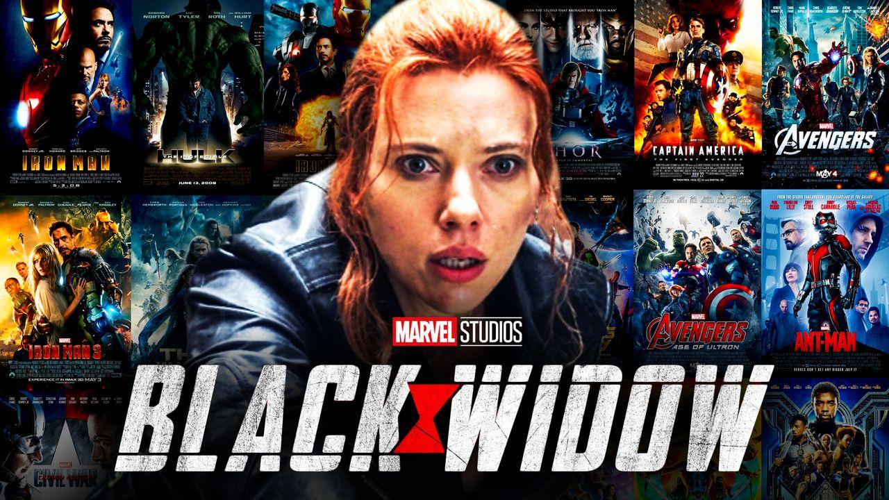 Black Widow Marvel Movies