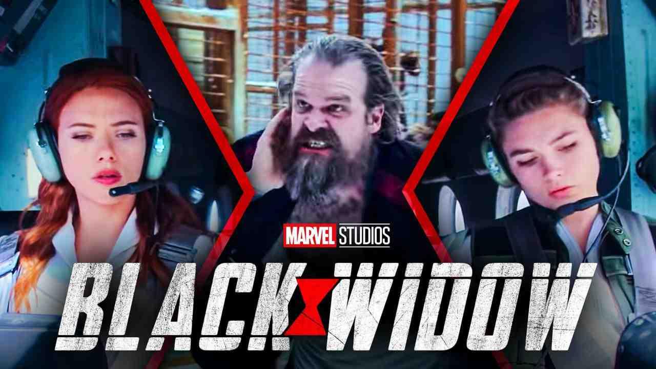 Black Widow Natasha Romanoff Yelena Belova Red Guardian