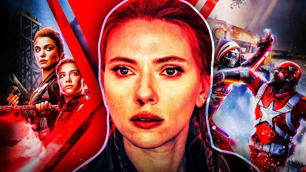 Scarlett Johansson Black Widow Red Guardian Yelena
