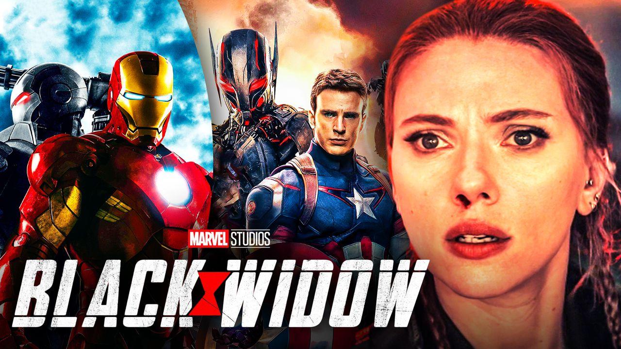 Black Widow Iron Man Avengers Age of Ultron