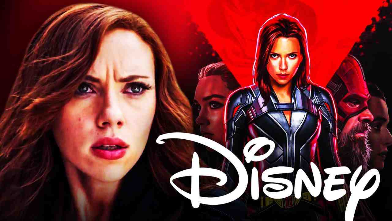 Black Widow Scarlett Johansson Disney