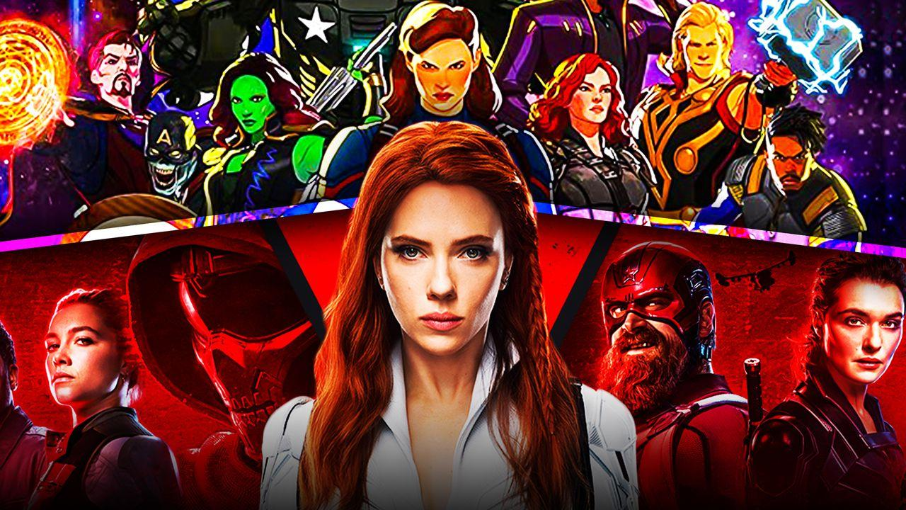 Black Widow Movie Characters, Marvel's What If Show