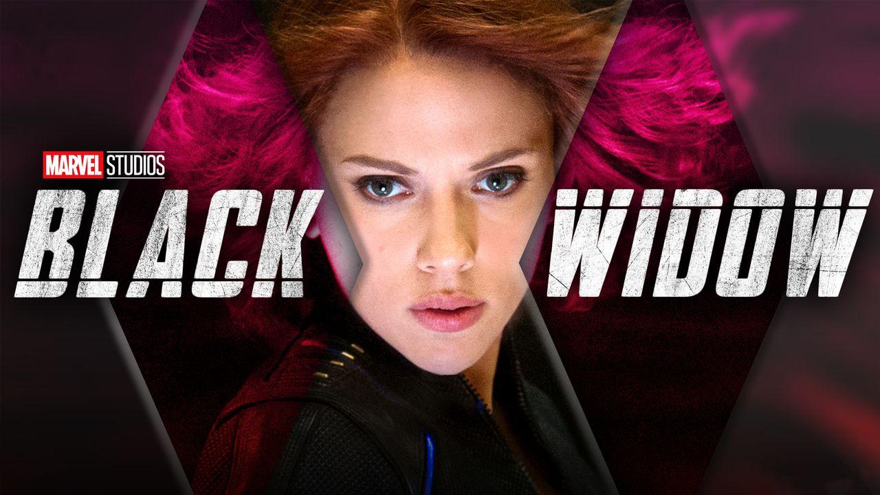 Natasha Romanoff and Black Widow logo