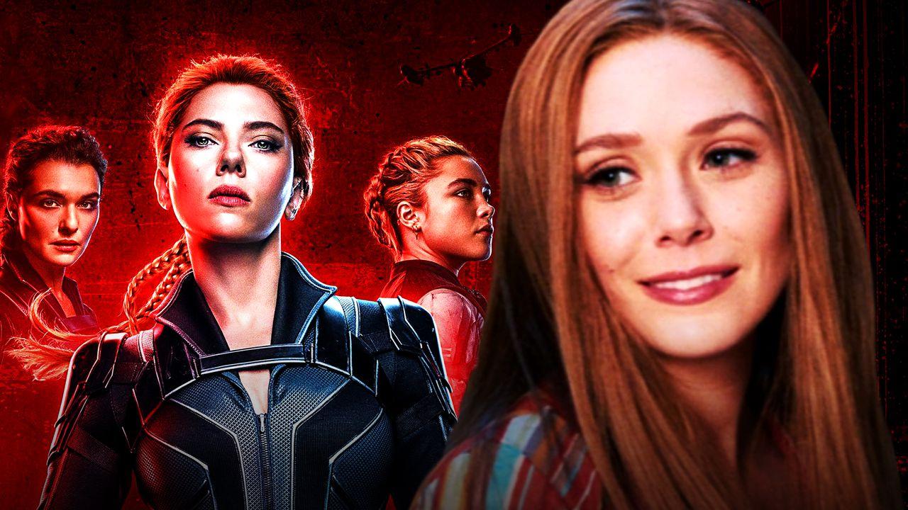 ScarlettJohansson Elizabeth Olsen Black Widow Wanda
