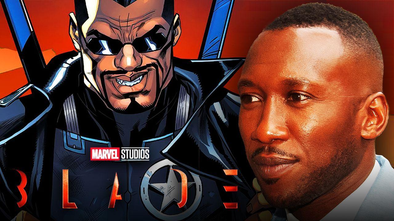 Blade logo, Marvel Studios logo