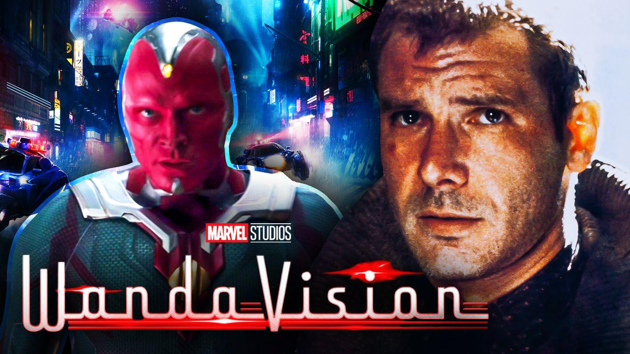 Vision and Harrison Ford