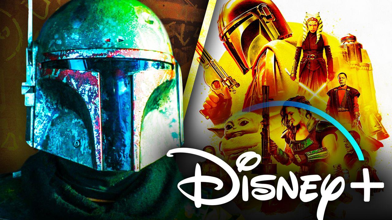 Boba Fett Disney Plus logo