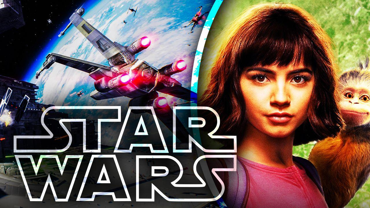 Star Wars Dora the Explorer Movie