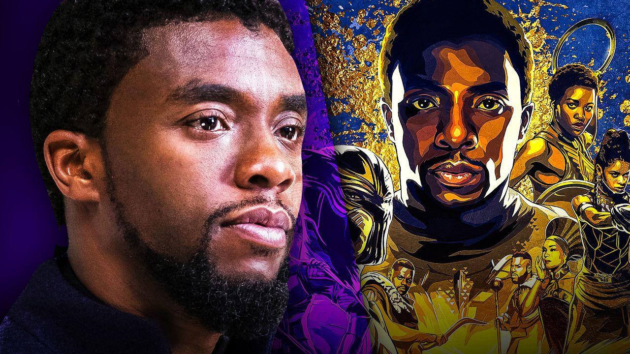 Chadwick Boseman, 'Black Panther' IMAX art