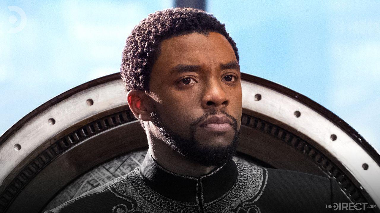 Chadwick Boseman as King T'Challa