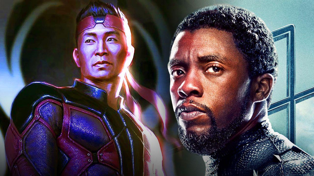 Shang-Chi, Chadwick Boseman