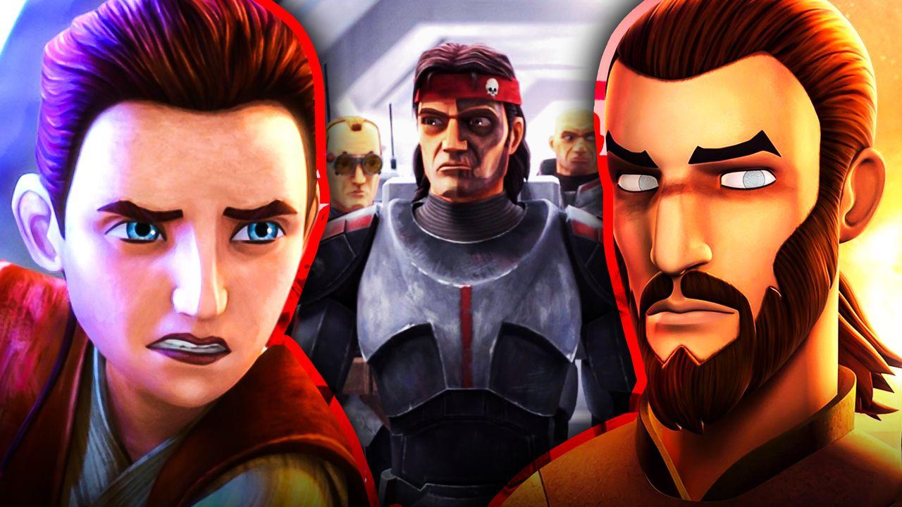 Star Wars The Bad Batch Kanan Jarrus Caleb Dume