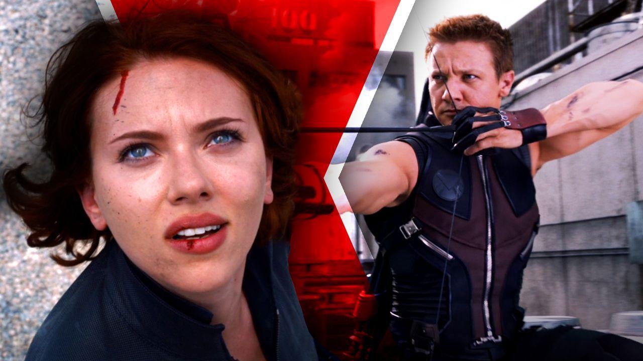 Black Widow and Hawkeye, The Avengers