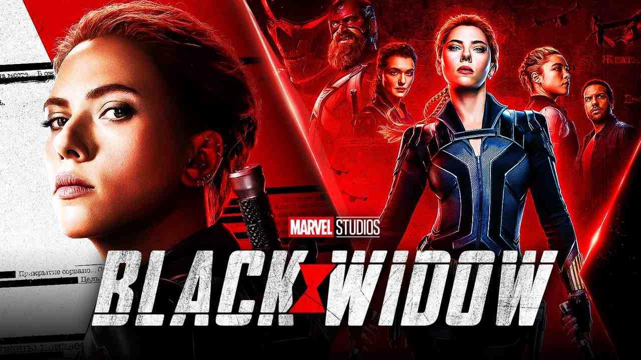 Black Widow poster background