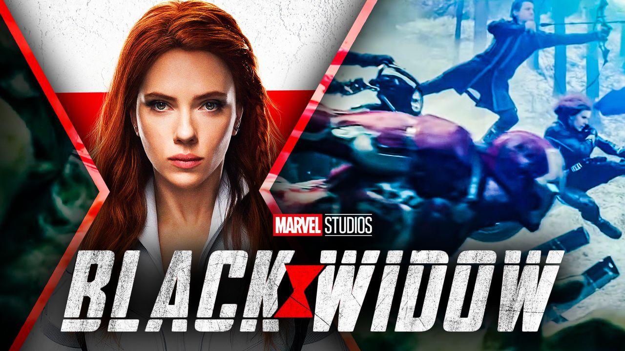 Black Widow Avengers Age of Ultron Scene