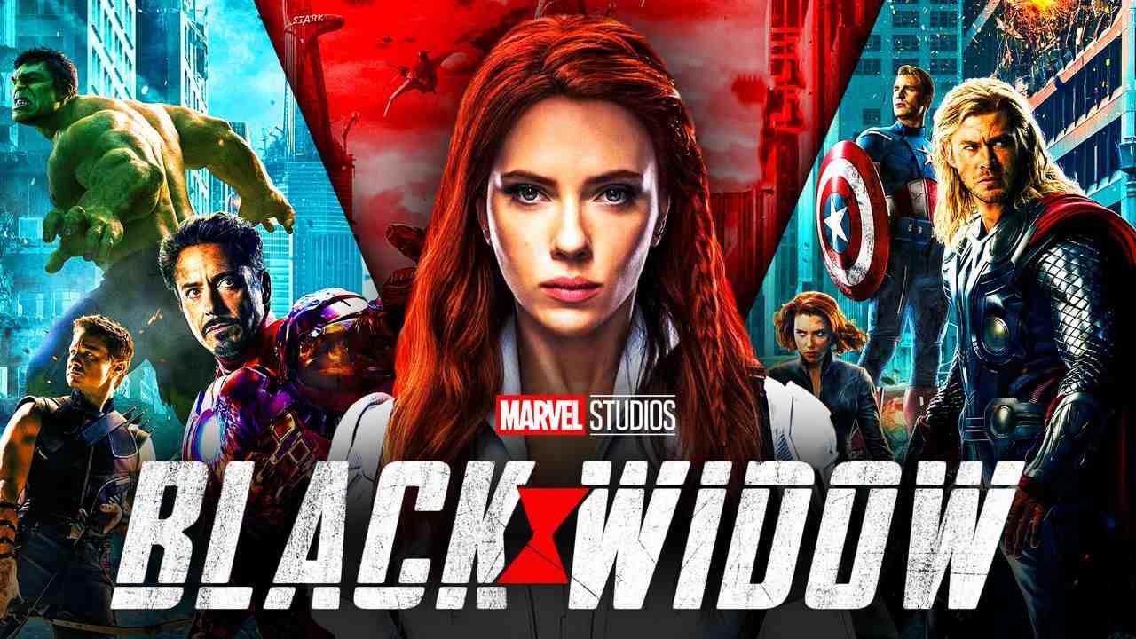Black Widow Scarlet Johannson Avengers